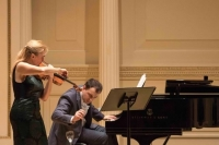 A Bit of Glass premiere at Carnegie Hall with Benita Beneitez (2016)