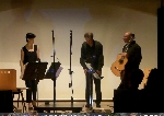 Le barche di Maccagno for flute, guitar and live video