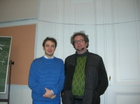 with professor Jan van Landeghem