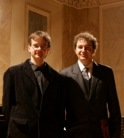 With Michał Papara after Marek Stachowski Competition 2009